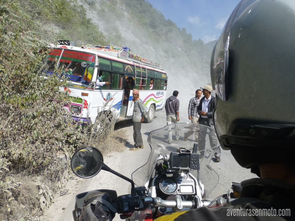 Bus accidentado Nepal